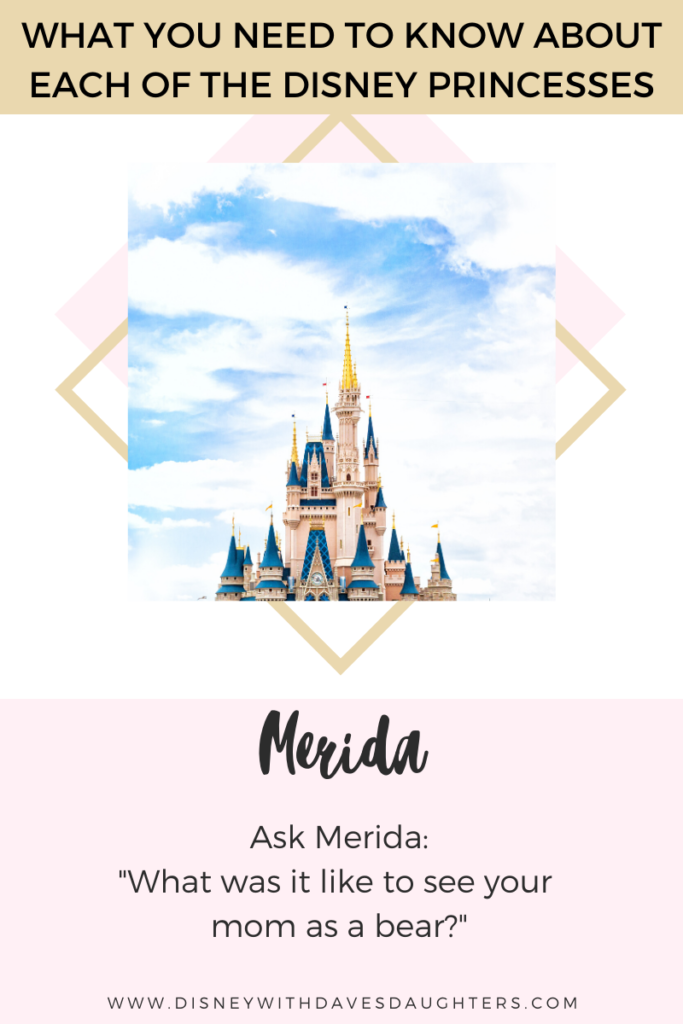 What to ask Merida when you meet her at Disney World!