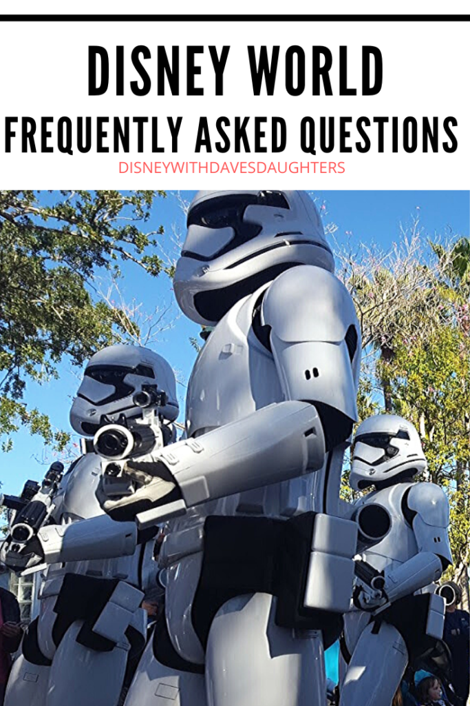 Answering all your frequently asked questions about Disney World!