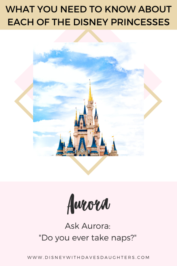 What to ask Aurora when you meet her at Disney World!
