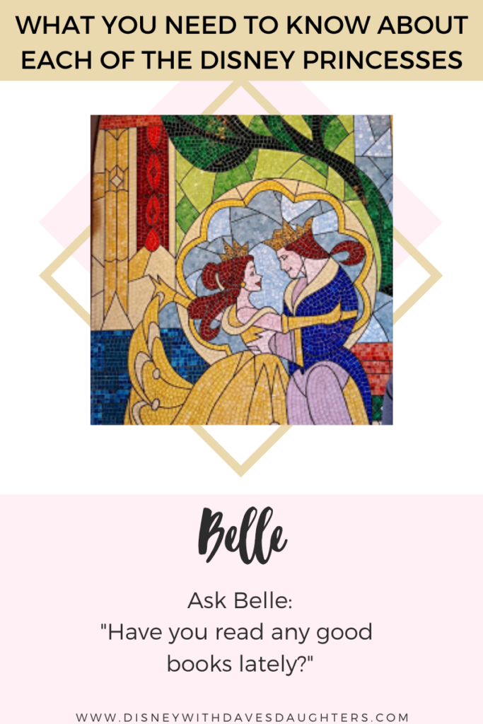 What to ask Belle when you meet her at Disney World!