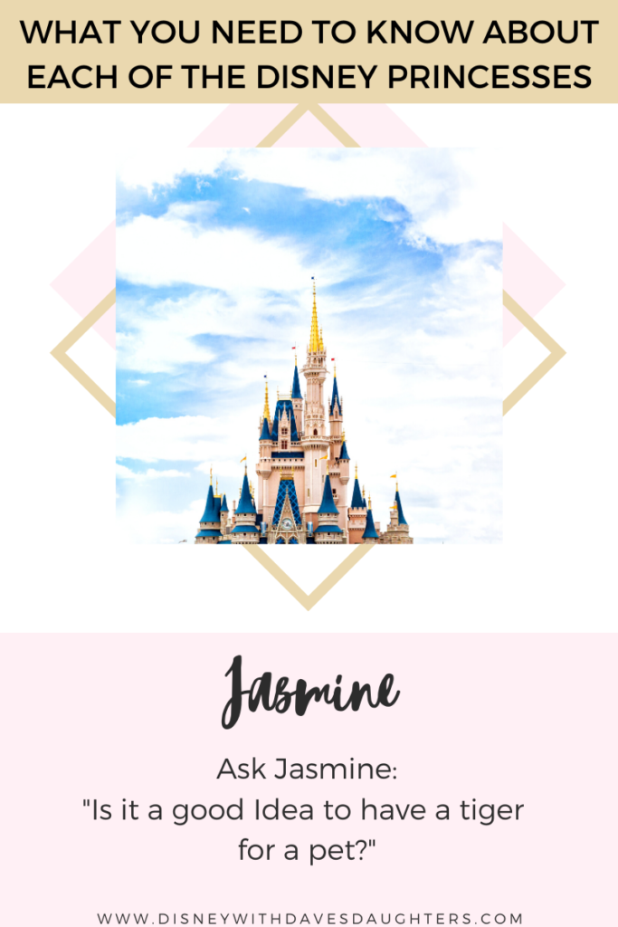What to ask Jasmine when you meet her at Disney World!