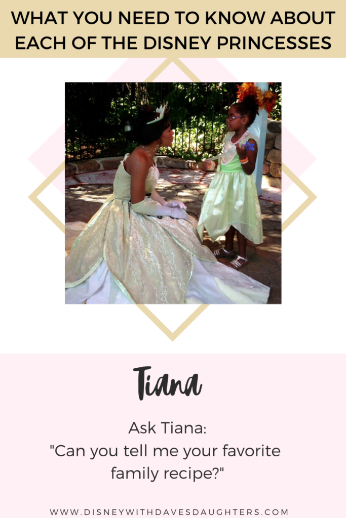 What to ask Tiana when you meet her at Disney World!