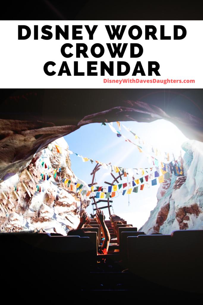 Disney World Crowd Calendar - find the best times to go to Disney world!
