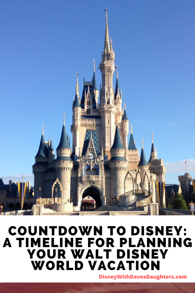 Planning a Trip to Disney World - A timeline for planning your Disney vacation
