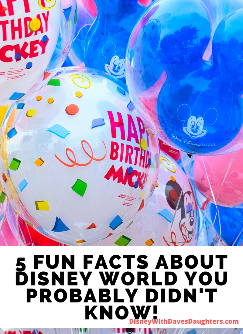 Did You Know? 5 Fun Facts about Disney World