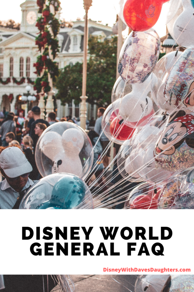 Disney World FAQ