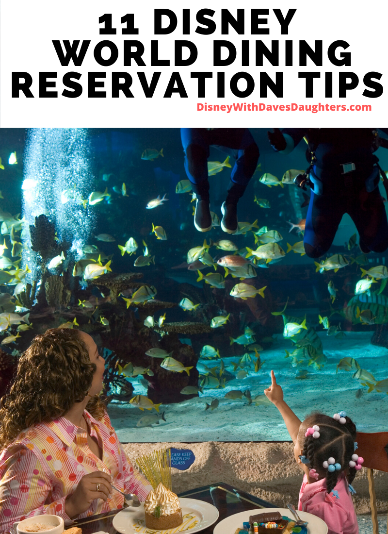 11 Tips About Disney Dining Reservations