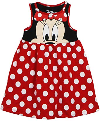 Minnie Mouse Face Dress
