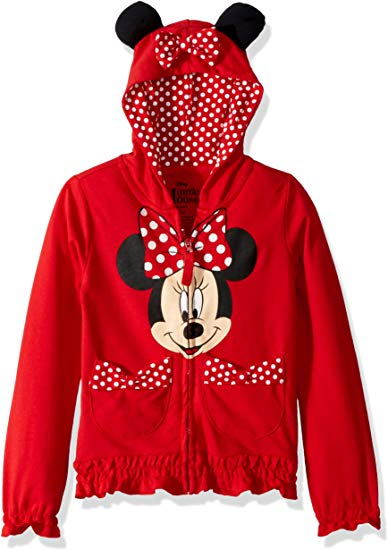 Minnie Mouse Polka Dot Hoodie