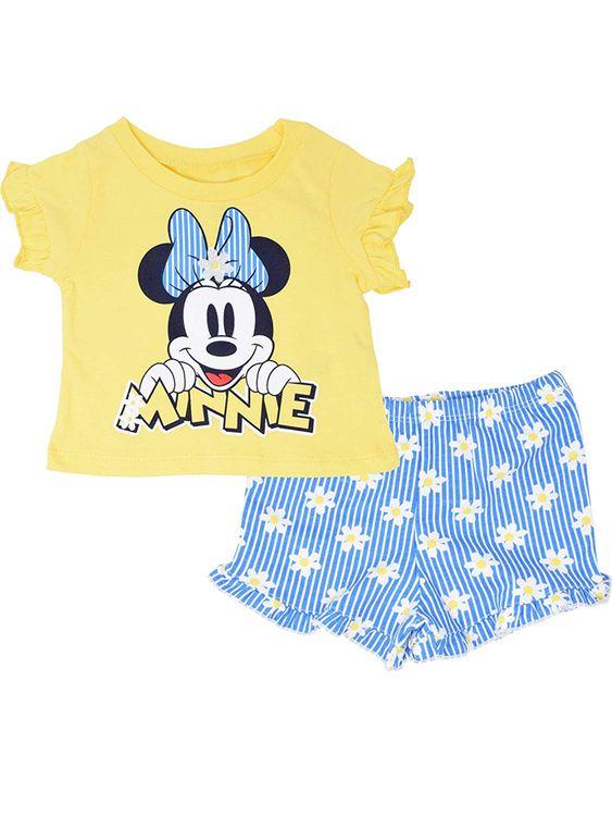 Minnie Ruffle Shirt + Shorts