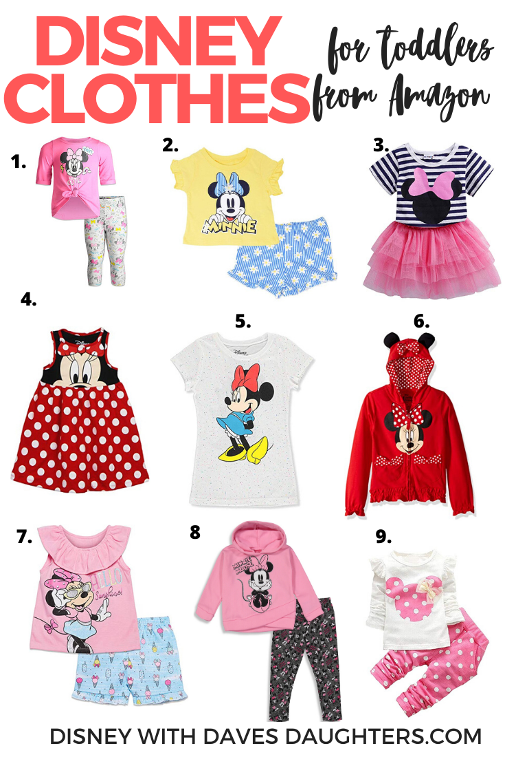 Disney Clothes for Toddler Girls