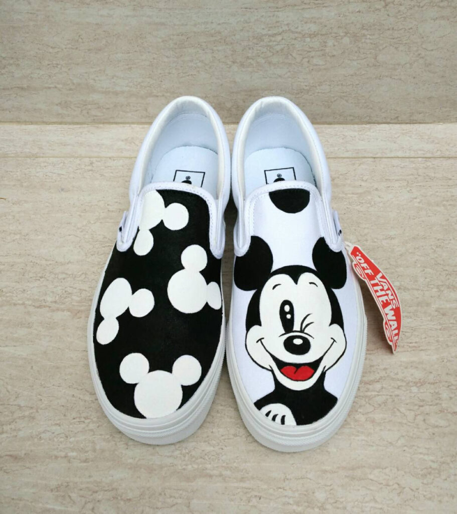 Love custom work? Etsy is full of fun, hand painted loafers