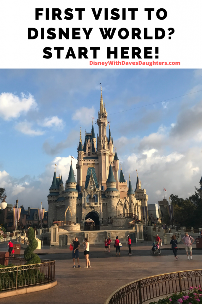 First Time to Disney World