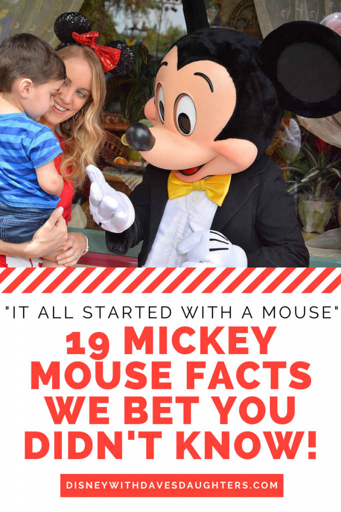 It All Started With a Mouse - 19 Mickey Mouse Facts to Test Your Disney Knowledge