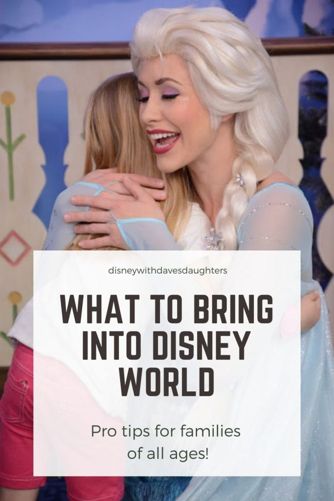 What to bring into disney world