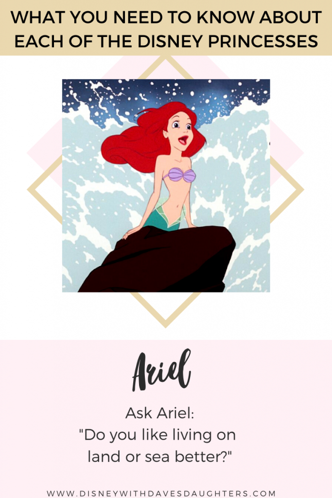 What to ask Ariel when you meet her at Disney World!