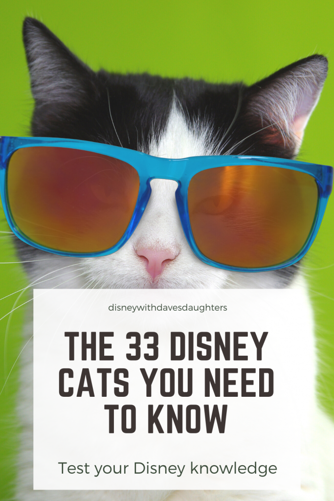 The 33 Disney Cats You Need to Know