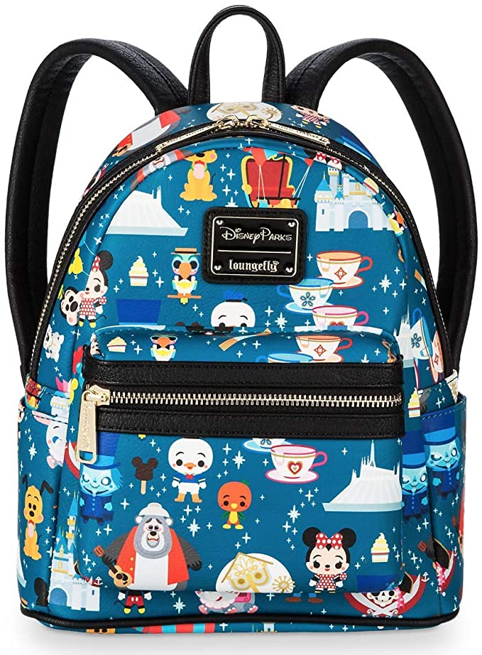 Disney Parks Attractions Mini Backpack Loungefly