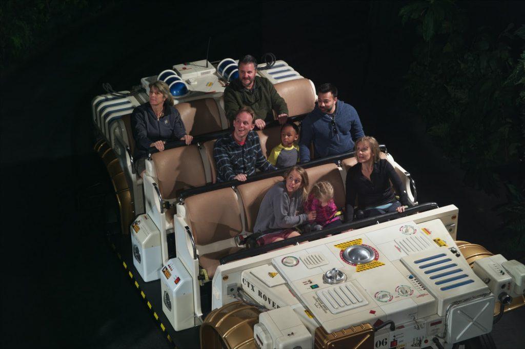 DINOSAUR ride at Animal Kingdom