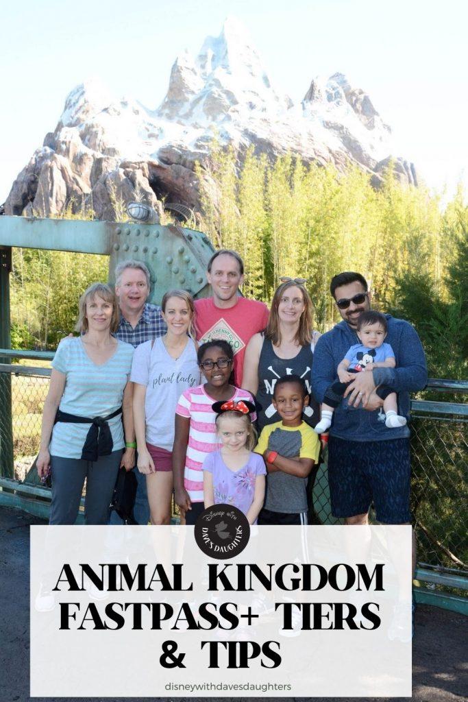 Animal Kingdom FastPass+ Tiers & Tips