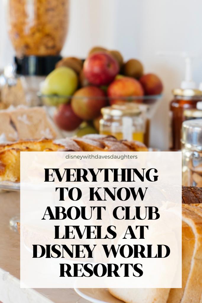 Best Club Level at Walt Disney World